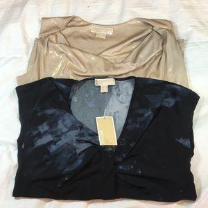 Pack of 2 women's sleeveless shirts Michael Kors.